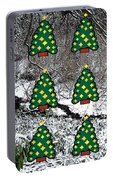 Christmas Trees Portable Battery Charger