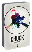 Chuck Berry Watercolor Portable Battery Charger