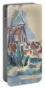 Church At Montigny Sur Loing, 1898  Portable Battery Charger