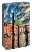 Church Of San Simeone Piccolo, Venice Portable Battery Charger