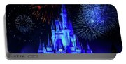 Cinderella Castle Fireworks Portable Battery Charger