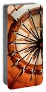 Circles Of Design Portable Battery Charger by Karen Wiles