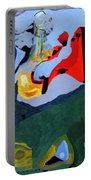 Circus At Night Portable Battery Charger
