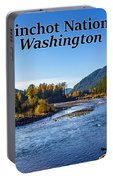 Cispus River In The Gifford Pinchot National Forest, Washington State Portable Battery Charger