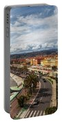 City Skyline Of Nice In France Portable Battery Charger