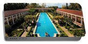 Classic Awesome J Paul Getty Architectural View Villa  Portable Battery Charger