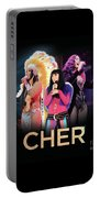Classic Cher Trio Portable Battery Charger