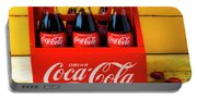 Classic Six Pack Of Cokes Portable Battery Charger