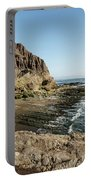 Cliff In The Ocean Portable Battery Charger
