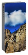 Clouds Abover Upper Yosemite Fall Portable Battery Charger