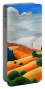 Clouds Over Windy Hill Portable Battery Charger