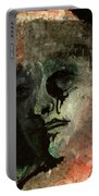 Clown On Black Portable Battery Charger