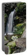 Coastal Falls Portable Battery Charger by Margaret Pitcher