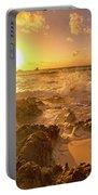 Coastal Sunrise Spectacular  Portable Battery Charger