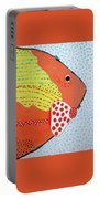 Al Bacores Big Night Out Portable Battery Charger by Deborah Boyd