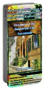 Collectible Dreaming Savannah Book Poster Portable Battery Charger