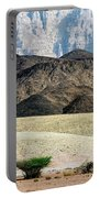 Color Layers In The Desert Portable Battery Charger by Arik Baltinester