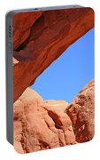 Colorado Arches, Close Up Blue Sky 3440 Portable Battery Charger