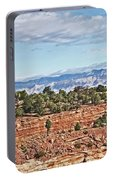 Colorado Blue Sky Red Rocks Clouds Trees 2 10212018 2857 Colorado  Portable Battery Charger