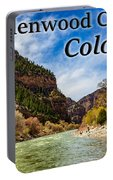 Colorado - Glenwood Canyon Portable Battery Charger