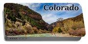 Colorado - Glenwood Canyon Portable Battery Charger