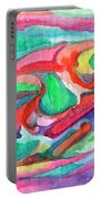 Colorful Abstraction Portable Battery Charger