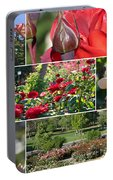 Coming Up Roses Portable Battery Charger