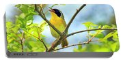 Common Yellowthroat Singing His Little Heart Out Portable Battery Charger