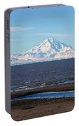 Cook Inlet And The Alaska Range From Ninilchik Portable Battery Charger