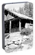 Coolidge Ghost Town Montana Portable Battery Charger