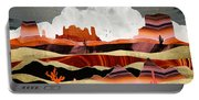 Coral Desert Lake Portable Battery Charger