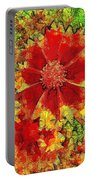 Coreopsis Abstract Portable Battery Charger