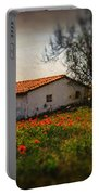 Corn Poppies Portable Battery Charger by Okan YILMAZ