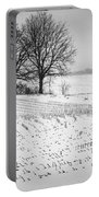 Corn Snow Portable Battery Charger by Kendall McKernon
