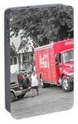 Costa Rica Soda Truck Portable Battery Charger
