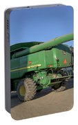 Cousin Paul Nelson Climbs Aboard A John Deere Bullet Rotor 9770  Portable Battery Charger