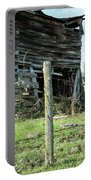 Cow By The Old Barn, Earlville Ny Portable Battery Charger by Gary Heller