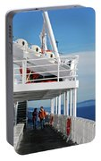 Cozy Walk -  Painterly Ferry To Victoria Portable Battery Charger