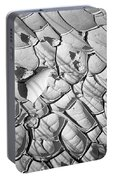 Cracked Earth Abstract Portable Battery Charger