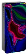 Crazy Abstract Amoeba Portable Battery Charger
