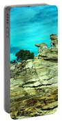Crazy Rock Formations In New Mexico Portable Battery Charger
