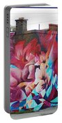 Creative Splash Of Artwork Portable Battery Charger