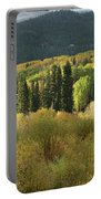 Crested Butte Colorado Fall Colors Panorama - 1 Portable Battery Charger