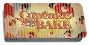 Cupcake Bake 1958 Portable Battery Charger