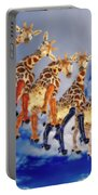 Curious Giraffes  Portable Battery Charger