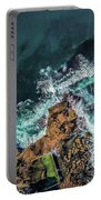 Curly Headland Portable Battery Charger by Chris Cousins
