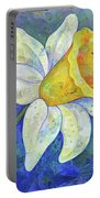 Daffodil Festival I Portable Battery Charger by Shadia Derbyshire