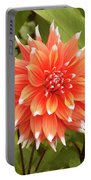 Dahlia Bloom Flower Portable Battery Charger
