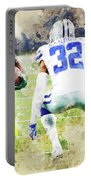 Dallas Cowboys Against Green Bay Packers. Portable Battery Charger