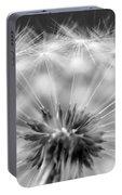 Dandelion Seeds Pod Macro Portable Battery Charger